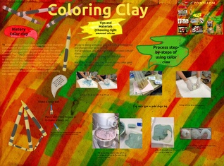 About Coloring Clays poster