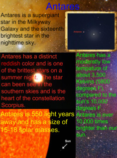 The star Antares
