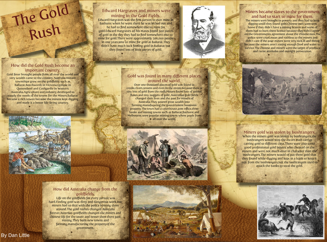 how did the gold rush change australia