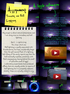 Ball lightning and tornadoes