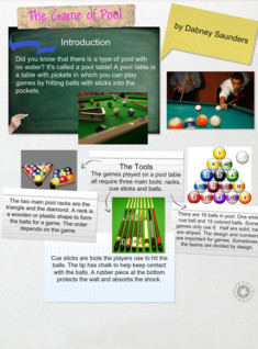 The Game of Pool