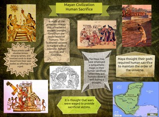 Mayan Civilization Human Sacrifice