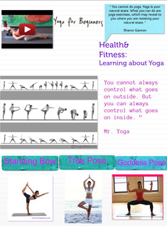 Health&Fitness: Learning about Yoga