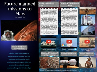 Future manned missions to Mars