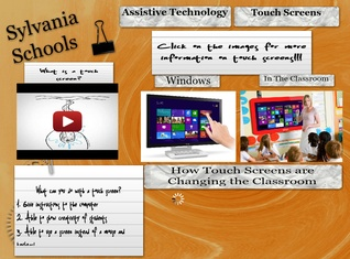 Touch Screens in the Classroom