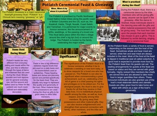 Potlatch Ceremonial Feast & Giveaway